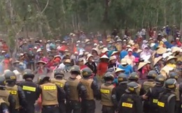 Hàng trăm người phản ứng ngăn cản dự án điện gió