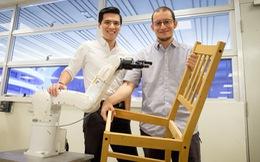 Nhà nghiên cứu người Việt đồng chế tạo robot lắp ráp đồ nội thất