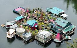 Kệ sự đời, đôi vợ chồng xây đảo sống ẩn giữa thiên nhiên