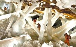 Vẻ đẹp kỳ thú của hang động pha lê ở Mexico