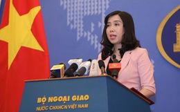Đề nghị Trung Quốc chấm dứt đưa oanh tạc cơ đến Hoàng Sa