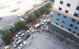 Công an giải tỏa bãi xe, hàng ngàn dân chung cư náo loạn