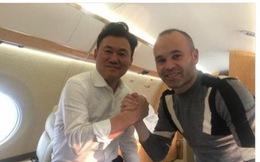 Iniesta gia nhập Giải bóng đá Nhật Bản