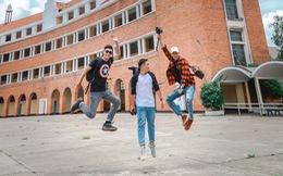 Video 'Nhảy khắp Đà Lạt' hút dân mạng của 3 hotboy Kiến trúc