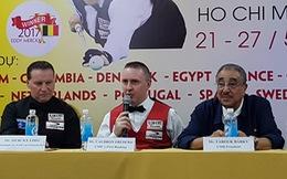 Tay cơ số 1 thế giới Caudron Frederic đến TP.HCM dự World Cup