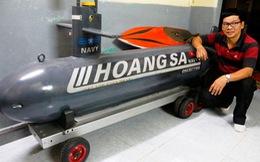 Ông Ngà 'tàu ngầm' tiếp tục hết lòng với robot Cố Đô