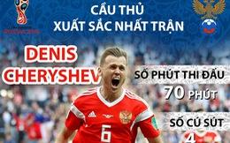 Cheryshev - 'Tội đồ' Real Madrid thành người hùng tuyển Nga