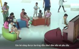 Tiếng dương cầm xoa dịu nỗi đau ở bệnh viện trẻ thơ