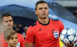 'Lục tung' hồ sơ trọng tài đẹp trai phạt thẻ đỏ Colombia phút thứ 3