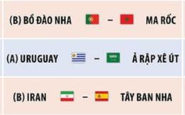 Lịch thi đấu World Cup 2018 ngày 20-6