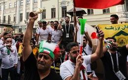 Cổ động viên Iran hừng hực lửa trước trận gặp Tây Ban Nha