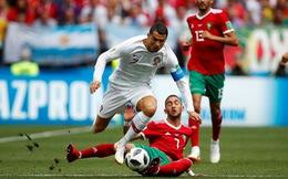 Bồ Đào Nha - MaRốc 1-0:  Ronaldo tiễn MaRốc về nước