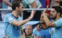 Uruguay đi tiếp nhờ bàn thắng duy nhất của Suarez