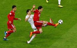 Tây Ban Nha - Iran 1-0: VAR từ chối bàn thắng của Iran