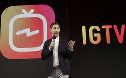 Instagram công khai cạnh tranh YouTube với ứng dụng mới IGTV