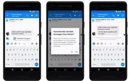 Facebook Messenger sắp ra mắt tính năng dịch tin nhắn