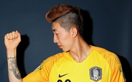 'Oppa' Hàn Quốc bắt bóng như người nhện làm bao trái tim xao xuyến