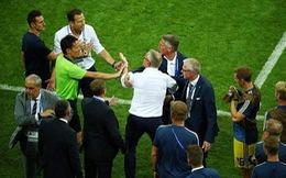 Thắng phút chót, tuyển Đức ăn mừng khiêu khích Thụy Điển?