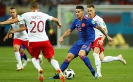 Trực tuyến Ba Lan - Colombia 0-3: James kiến tạo cả 3 bàn