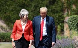 Ông Trump có thực chỉ trích Thủ tướng Anh khi đang thăm Anh?