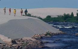 Ngắm những đụn cát đẹp như dải ngân hà