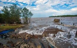 Sạt lở đe dọa tương lai Đồng bằng sông Cửu Long