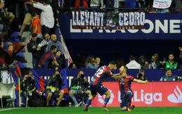 Barca vỡ mộng bất bại tại La Liga