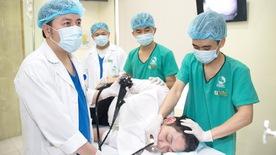 Nội soi dạ dày, đại tràng không đau tại Bệnh viện Thu Cúc