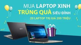 Mua Laptop trúng quà siêu đỉnh trong tháng sinh nhật Viễn Thông A