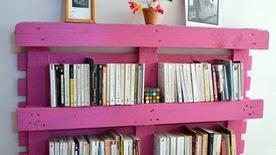 Biến các thanh gỗ bỏ đi thành vật tiện ích, nên thơ trong nhà