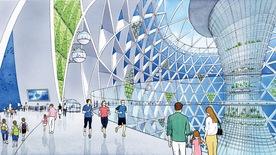 Ngắm đô thị 5.000 dân trong lòng đại dương vào năm 2030