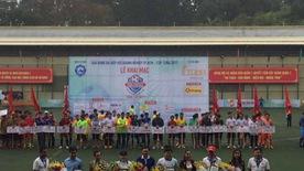 Khai mạc Giải bóng đá Hiệp hội Doanh nghiệp TP.HCM