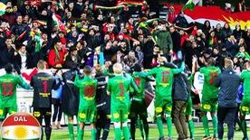 Người Kurd cũng có biểu tượng bóng đá