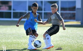 Màn độc diễn 'triệu view' của con trai Cristiano Ronaldo
