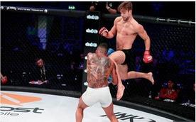 Video võ sỹ MMA bị trừ điểm vì đá ngón chân vào 'chỗ nhạy cảm' của đối thủ