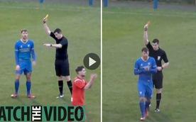 Video: 'Mới thấy lần đầu' khi trọng tài rút 3 thẻ cùng lúc để đuổi 1 cầu thủ