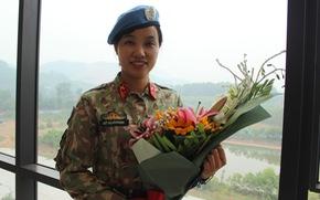 Sĩ quan VN đi gìn giữ hòa bình, luôn nhớ sau lưng mình là Tổ quốc