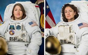 Lần đầu tiên toàn chị em phụ nữ đi bộ ngoài không gian
