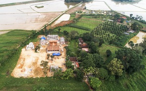 Vụ 'chùa triệu đô xây chui': Cảnh cáo, khiển trách 4 cán bộ xã