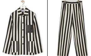Loewe xin lỗi vì thời trang y như đồ tù... Đức quốc xã