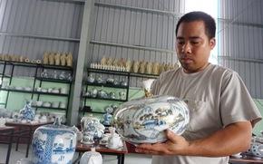 Nghệ nhân trẻ hồi sinh làng gốm Bồ Bát ngàn năm