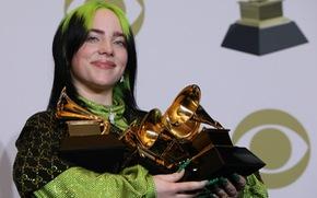 Billie Eilish thắng lớn tại lễ trao giải Grammy 2020