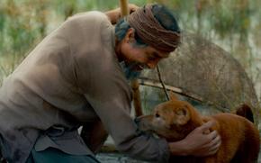 Phim 'Cậu Vàng' công bố hình ảnh đầu tiên của lão Hạc và chú chó