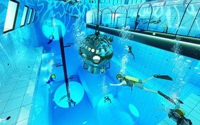Lý thú với bể lặn sâu nhất thế giới tại Ba Lan