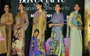 Giếng Thiên Quang - Văn Miếu Quốc Tử Giám - thành sàn diễn lung linh tôn vinh áo dài