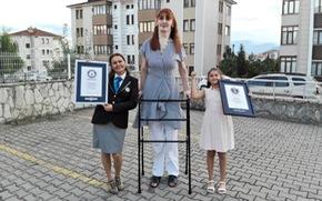 Hy hữu: Nam nữ cao nhất thế giới đều là người Thổ Nhĩ Kỳ