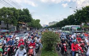Tổ chức lại giao thông đường Trường Chinh để giảm ùn tắc tại 4 quận