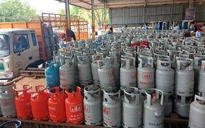 Giá gas tăng thêm 12.000 đồng bình 12kg từ 1-8
