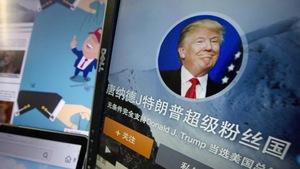 Dân Trung Quốc háo hức chờ ông Trump