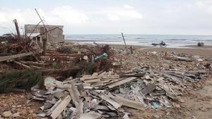 Xứ biển Kỳ Anh vẫn còn tan hoang sau bão
